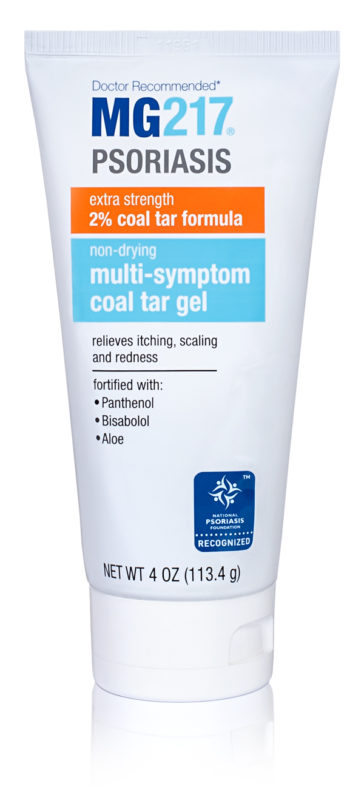 Non-Drying Multi-Symptom Coal Tar Gel